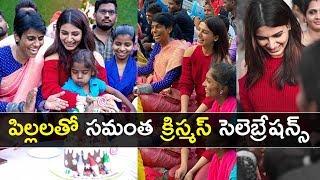 Actress Samantha Akkineni And Tollywood Celebrities Christ..