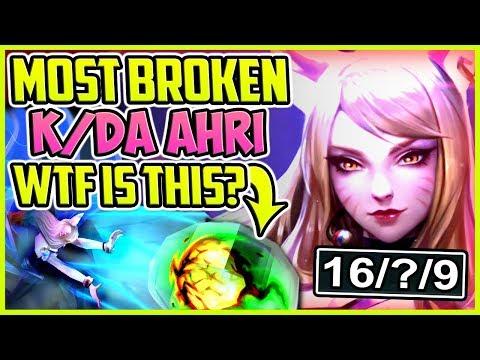 Most Broken Kda Ahri Build Wtf Is This Best Skin Ever Ahri Mid