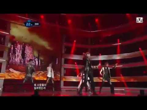 120524 EXO (EXO-K + EXO-M) - MAMA Special Stage  @M!Countdown