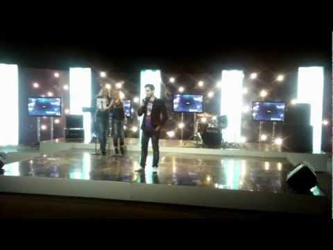 Андрей Юрец - Огонь. Евровидение 2012