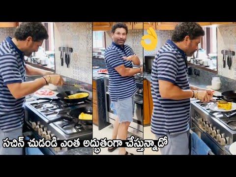 Sachin Tendulkar shares latest cooking video