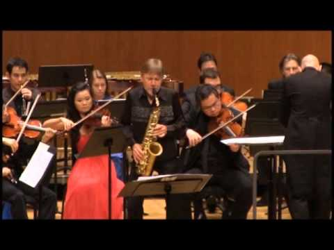 Piazzolla Six Tango Etudes (1 & 2) Claude Delangle & City Chamber Orchestra of Hong Kong