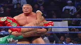 Rey Mysterio vs Brock Lesnar  - 12_11_2003 WWE SmackDown   World Wrestling Entertainment YT