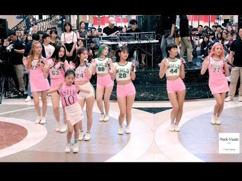 모모랜드(Momoland) X (Na Haeun)뿜뿜 BBoom BBoom,뮤비 조회수 2500만 공약 공연@180708