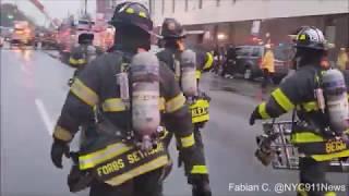 FDNY Battles Massive 3-Alarm Bronx Fire! @NYC911NEWS