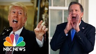 'Pathetic': GOP Reactions To Donald Trump's Charlottesville Comments   NBC News