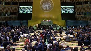 LIVE: World leaders give speeches at the United Nations General Assembly