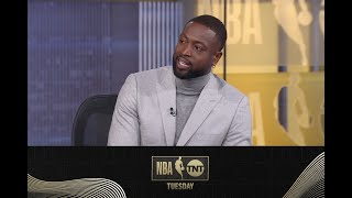 Shaq & D-Wade React to the Los Angeles Lakers Beating the Knicks in an OT Battle | NBA on TNT