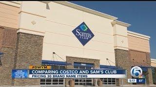 Comparing Costco and Sam's Club