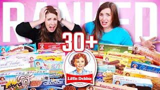 We Rank EVERY Dessert From Little Debbie! - Extreme Taste Test!