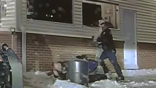 RAW VIDEO: Wisconsin police officer knocked unconscious by suspect