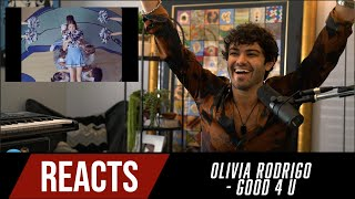 Producer Reacts to Olivia Rodrigo - good 4 u