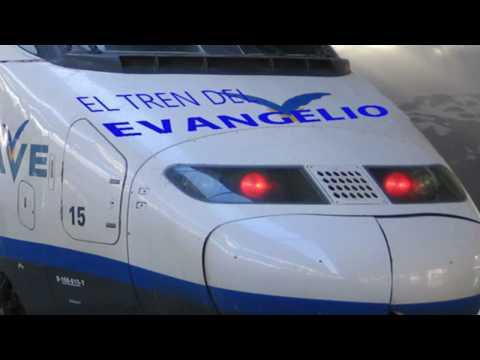 El tren del Evangelio/ los Hermanos Alvarrados