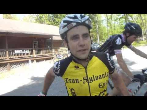 Justin Lindine at Trans-Sylvania Epic 1