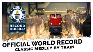 Official World Record! Fantastic Classical Music Medley played by a Train