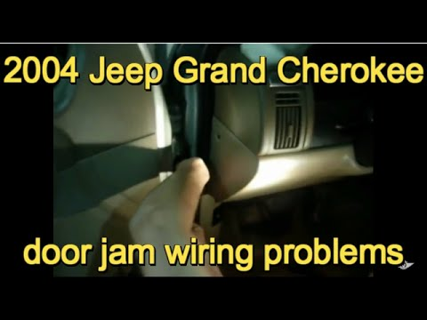 2004 grand cherokee door jam wiring problem youtube. Black Bedroom Furniture Sets. Home Design Ideas