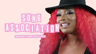 Megan Thee Stallion Sings Rihanna, Beyoncé and Khalid in a Game of Song Association   ELLE