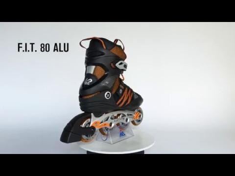 Video K2 Roller fitness FIT 80 ALU M17