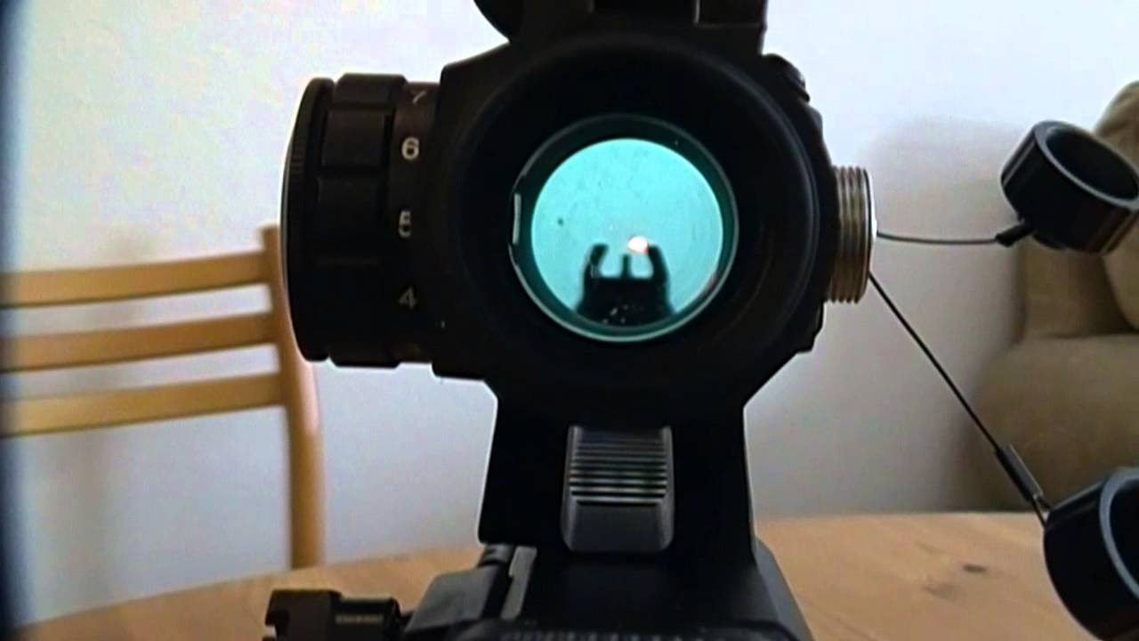 How To Zero A Red Dot Sight Youtube