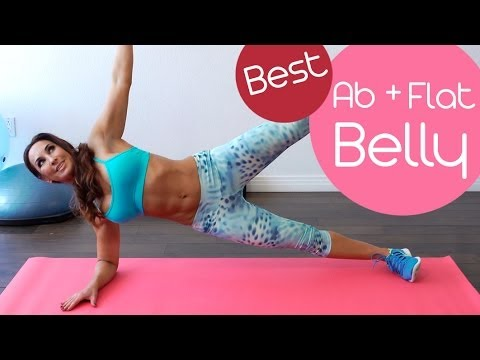 best 5 minute ab and flat belly workout with natalie jill
