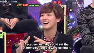 [ENGSUB] 25122012 Strong Heart ep 160 Yoon Si Yoon and Mir MBLAQ CUT