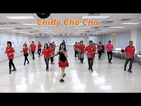 Chilly Cha Cha (by Totoy Pinoy) - Line Dance (Beginner) ~ 綺麗恰恰 - 排舞