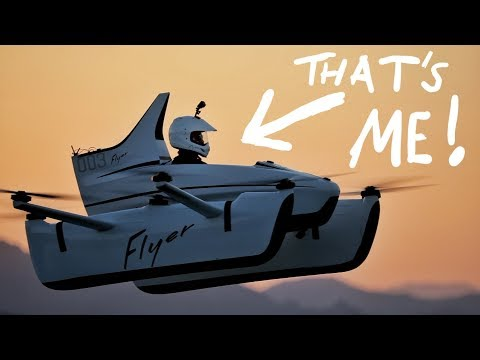 I FLEW THE FIRST FLYING CAR!!!!