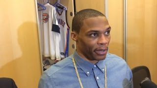 Westbrook Talks OKC Picking up The Pieces After KD Injury News