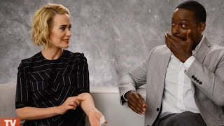 The People v. O.J. Simpson's Sarah Paulson on the Time She Accidentally Messed Up a Fan's Tattoo