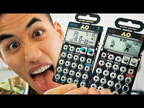 Pocket Operators!   Andrew Huang
