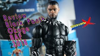 Review Black Panther Okoye BAF Marvel Legends Hasbro Movie Action Figure Revision Español