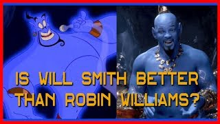 Is Will Smith Better than Robin Williams as the Genie?? | Disney's Aladdin Review