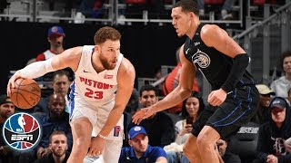 Blake Griffin's 30-point outing leads Pistons to OT win over the Magic | NBA Highlights