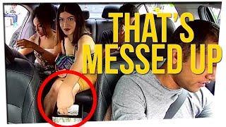 Woman Steals Tips From Uber Driver! ft. Steebee Weebee & DavidSoComedy