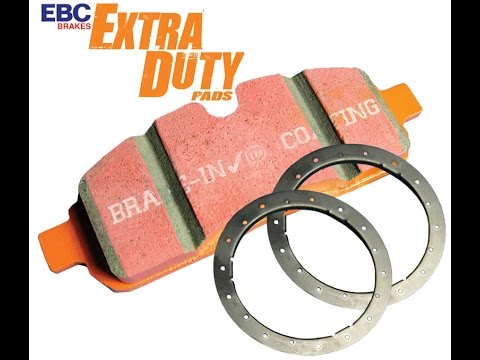 EBC Extra Duty light truck, Jeep & SUV brake pads