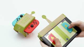 Nintendo Labo First Trailer - Cardboard Toy-Cons For Nintendo Switch