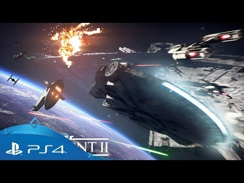 Službene snimke iz misije Starfighter Assault igre Star Wars Battlefront II | PS4