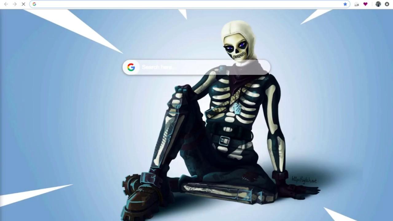 Fortnite Wallpaper Skull Trooper Okzator Com