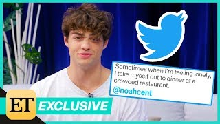 Noah Centineo Reads His Most Romantic Tweets
