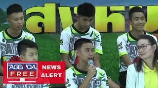 Thai Boys Press Conference - COMPLETE RECAP LIVE