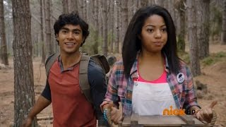 "Power Rangers Dino Charge - Tyler meets Shelby | Episode 1 ""Powers From the Past"""