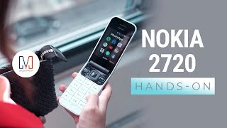 Nokia 2720 Hands-On: Flip phone makes a comeback!