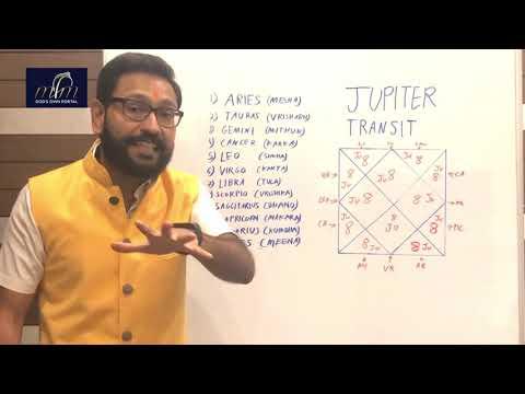 Brihaspati (Jupiter) transit from Libra to Scorpio Rashi | Planetary Transit
