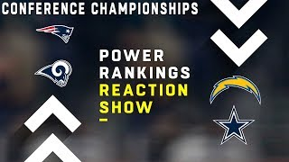 NFL Power Rankings Show: Conference Championships