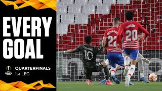 EVERY GOAL from the the 1st Leg of the Europa League Quarterfinals | UCL on CBS Sports