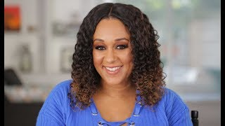 Tia Mowry's Tips for Curly Hair Extensions | Quick Fix