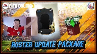 ~Woo +8!!!~ Roster Update Package Opening - FIFA ONLINE 3