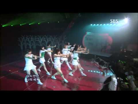 [07.07.02]인기가요 소녀시대 - 다시만난세계