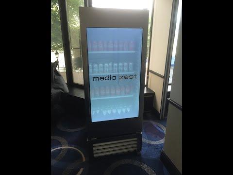 MediaZest present LG Interactive fridge at Arc Worldwide's Futureshop event