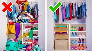 20 GENIUS ORGANIZING HACKS   Cool Ideas And DIY Crafts To Transform Your Home